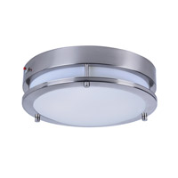 Maxim 55546WTSN Linear LED LED 12 inch Satin Nickel Flush Mount Ceiling Light