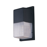 Wall Pak LED 6 inch Black Wall Sconce Ceiling Light