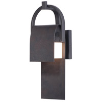 Maxim 55593RF Laredo LED 15 inch Rustic Forge Outdoor Wall Sconce