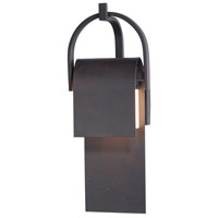 Maxim 55595RF Laredo LED 20 inch Rustic Forge Outdoor Wall Sconce