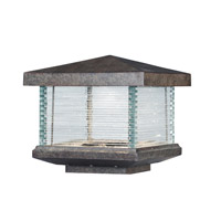 Maxim 55736CLET Triumph 9 inch 12 watt Earth Tone Outdoor Deck Lantern