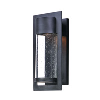 Focus LED 15 inch Black Outdoor Wall Sconce