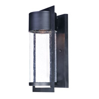 Maxim 55894BGBK Focus LED 18 inch Black Outdoor Wall Sconce