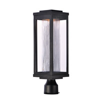 Maxim 55900CRBK Salon LED 20 inch Black Outdoor Pole/Post Mount