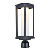 Maxim 55900SWBK Salon LED 20 inch Black Outdoor Pole/Post Mount