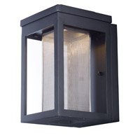 Maxim 55902MSCBK Salon LED 10 inch Black Outdoor Wall Sconce