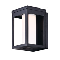 Maxim 55902SWBK Salon LED LED 10 inch Black Outdoor Wall Sconce in Satin White