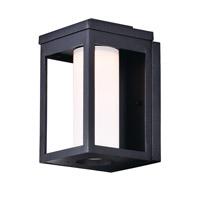 Maxim 55902SWBK Salon LED LED 10 inch Black Outdoor Wall Sconce in Satin White