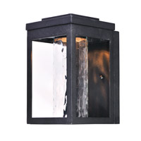 Salon LED 10 inch Black Outdoor Wall Sconce