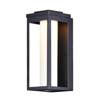 Maxim 55904SWBK Salon LED 15 inch Black Outdoor Wall Sconce