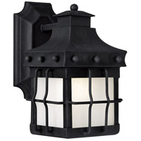 Nantucket LED 11 inch Country Forge Outdoor Wall Mount