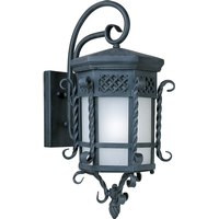 Maxim 56324FSCF Scottsdale LED E26 LED 24 inch Country Forge Outdoor Wall Mount