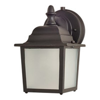Maxim 56924EB Side Door LED LED 9 inch Empire Bronze Outdoor Wall Mount
