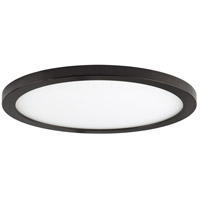 Maxim 57714WTBZ Wafer LED 10 inch Bronze Flush Mount Ceiling Light