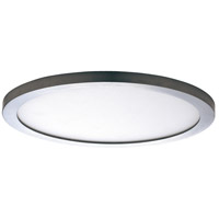 Maxim 57714WTSN Wafer LED 10 inch Satin Nickel Flush Mount Ceiling Light