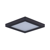 Wafer LED 5 inch Bronze Flush Mount Ceiling Light