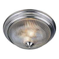 Maxim Lighting Signature 2 Light Flush Mount in Satin Nickel 5827CLSN