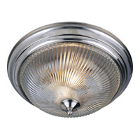 Maxim Lighting Signature 3 Light Flush Mount in Satin Nickel 5828CLSN