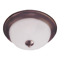 Maxim Lighting Signature 1 Light Flush Mount in Oil Rubbed Bronze 5830FTOI