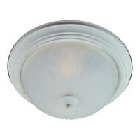 Maxim 5830FTTW Essentials - 583x 1 Light 12 inch Textured White Flush Mount Ceiling Light