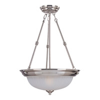 Maxim Lighting Signature 3 Light Pendant in Satin Nickel 5835FTSN