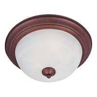 Maxim Maxim 2 Light Flush Mount in Country Stone with Marble Glass 5841MRCS photo thumbnail