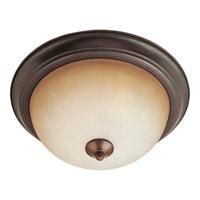 Maxim 5841WSOI Essentials - 584x 2 Light 14 inch Oil Rubbed Bronze Flush Mount Ceiling Light in Wilshire 75