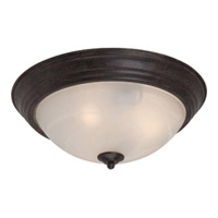 Maxim Lighting Signature 3 Light Flush Mount in Acorn 5842MRAC photo thumbnail