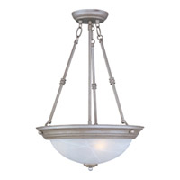 Maxim Lighting Signature 3 Light Pendant in Pewter 5845MRPE