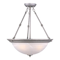 Maxim Lighting Signature 3 Light Pendant in Pewter 5846MRPE photo thumbnail