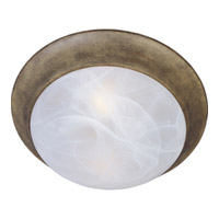 Maxim Lighting Signature 1 Light Flush Mount in Acorn 5850MRAC