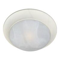 Maxim Lighting Signature 1 Light Flush Mount in Textured White 5850MRTW photo thumbnail
