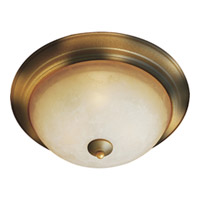Maxim Lighting Maxim Flush Mount in Burnished Amber 5855LTBE photo thumbnail