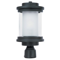 Maxim Lighting Lighthouse 1 Light Outdoor Pole/Post Mount in Anthracite 5860CLFTAR