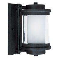 Maxim Lighting Lighthouse 1 Light Outdoor Wall Mount in Anthracite 5862CLFTAR