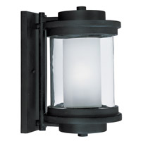 Maxim Lighting Lighthouse 1 Light Outdoor Wall Mount in Anthracite 5864CLFTAR
