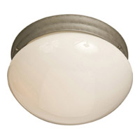 Maxim Lighting Signature 2 Light Flush Mount in Pewter 5881WTPE