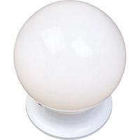 Maxim 5889WTWT Essentials - 588x 1 Light 6 inch White Flush Mount Ceiling Light