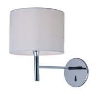Hotel LED 13 inch Polished Chrome Wall Sconce Ceiling Light