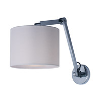 Hotel LED 10 inch Polished Chrome Wall Sconce Wall Light