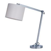 Maxim 60138WAPC Hotel 19 inch 16.00 watt Polished Chrome Table Lamp Portable Light