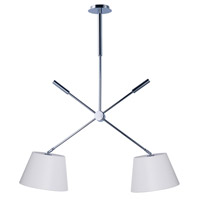 Hotel 1 Light Polished Chrome Pendant Ceiling Light