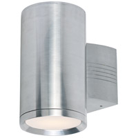 Maxim Lighting Lightray 1 Light Wall Sconce in Brushed Aluminum 6101AL