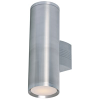 Maxim 6102AL Lightray 2 Light 5 inch Brushed Aluminum Wall Sconce Wall Light