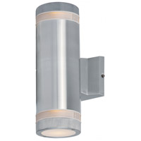 Maxim 6112AL Lightray 2 Light 4 inch Brushed Aluminum Wall Sconce Wall Light