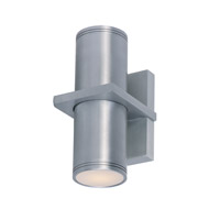 Maxim Lighting Lightray 2 Light Wall Sconce in Brushed Aluminum 6115AL