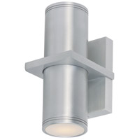 Maxim 6117AL Lightray 2 Light 6 inch Brushed Aluminum Wall Sconce Wall Light