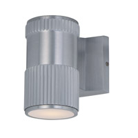 Maxim Lighting Lightray 1 Light Wall Sconce in Brushed Aluminum 6122AL