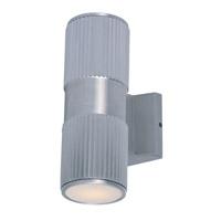 Maxim 6123AL Lightray 2 Light 4 inch Brushed Aluminum Wall Sconce Wall Light