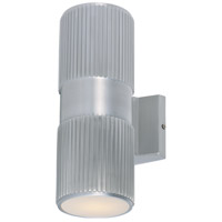 Lightray 2 Light 4 inch Brushed Aluminum Wall Sconce Wall Light